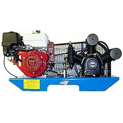 Puma 8-HP Tankless Two-Stage Truck Mount Air Compressor w/ Electric Start Honda Engine - TE-80HGE