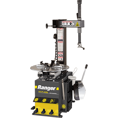 "Ranger R745 Swing Arm Tire Changer 21"" Capacity Gray-Yellow - 5140148 5140148"