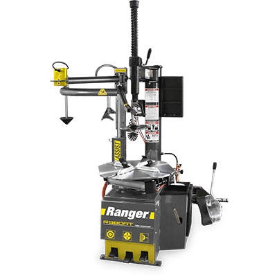 "Ranger R980AT Swing-Arm Tire Changer Single Tower Assist 30"" Capacity Gray-Yellow - 5140147 5140147"
