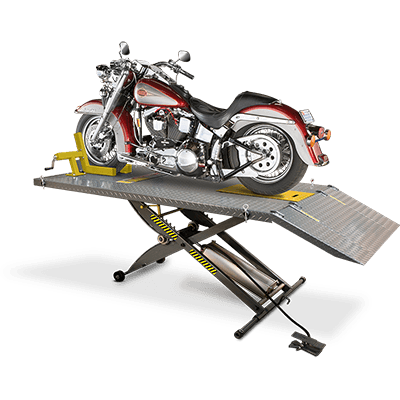 Ranger RML-600XL Motorcycle Lift Platform, Complete Wide Side and Front Ext - 5150575
