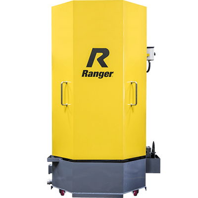 Ranger RS-750D Heavy-Duty Truck Spray Wash Cabinet With Skimmer Deluxe Dual-Heats Low-Water Shutoff 1-Phase 60Hz - 5155118