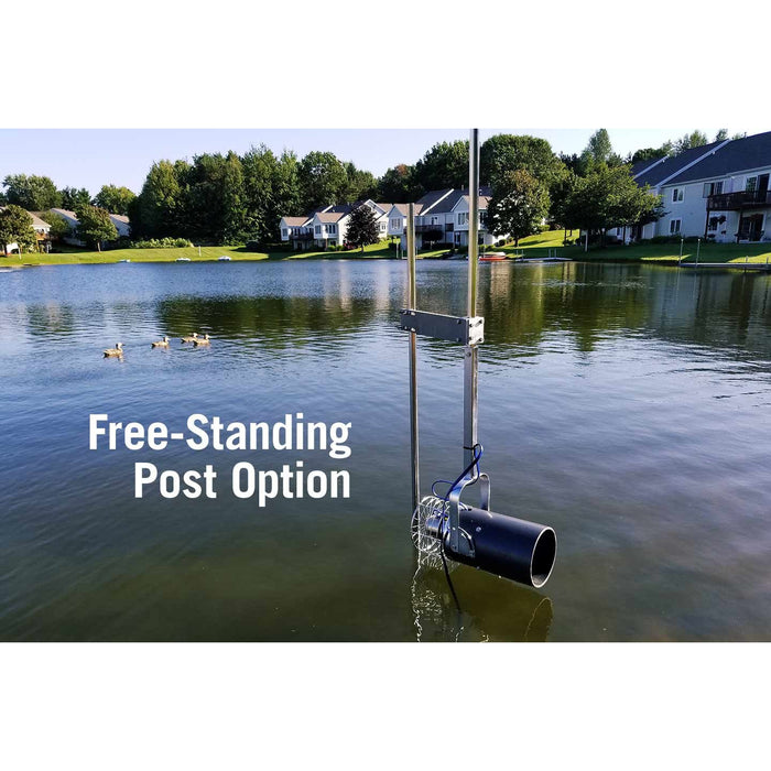 Scott Aerator Aquasweep Dock Mount, 3/4 HP, 230 V