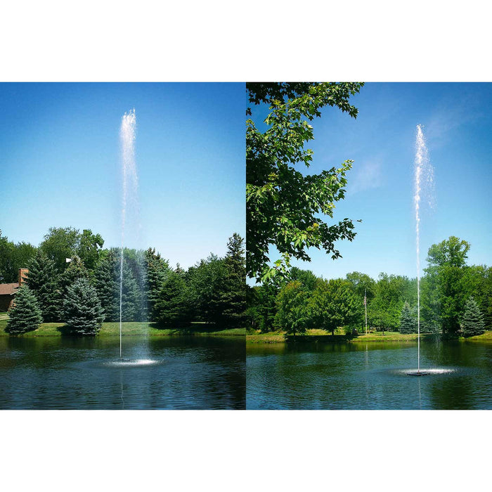 Scott Aerator Jet Stream Fountain, 1/2 HP, 230 V
