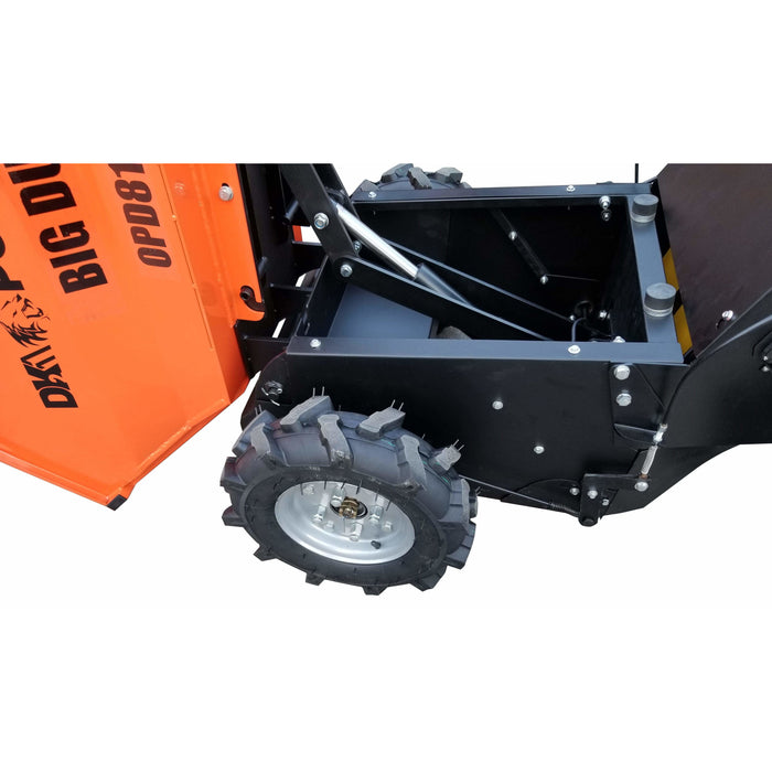 THE DK2 POWER ALL-TERRAIN BIG DUMP MOVES 1100 LBS AND INCLUDES 2 QUICK-CHANGE BUCKETS - OPD811 OPD811