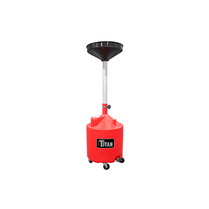 Titan 18 Gallon Adjustable Waste Oil Drain POD-18
