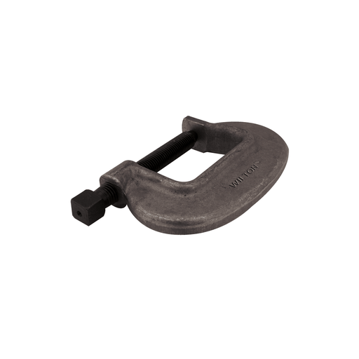 "Wilton 6-FC, ""O"" Series Bridge C-Clamp - Full Closing Spindle, 0"" - 6-1/2"" Jaw Opening, 3-3/8"" Throat Depth - 14572 14572"