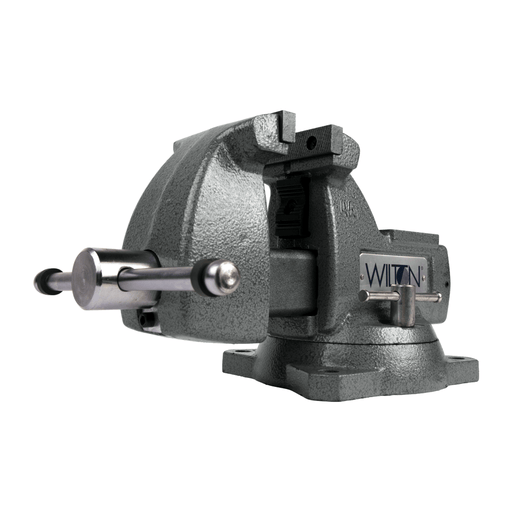 "Wilton Mechanics Vise 4"" Jaw with Swivel Base - 21300 21300"