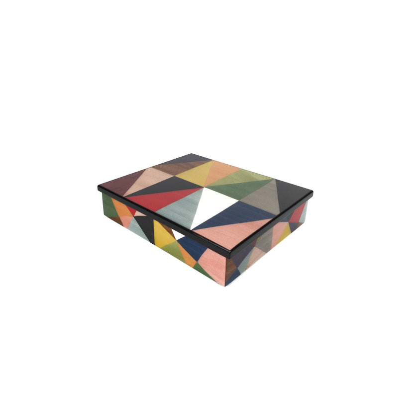 Rectangular medium size modern boxes