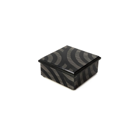 Circle Black and Grey Box