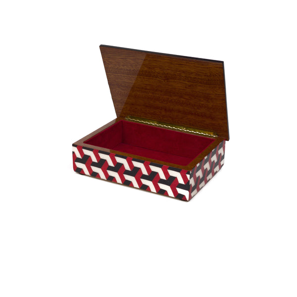 3D Red Rectangle Box