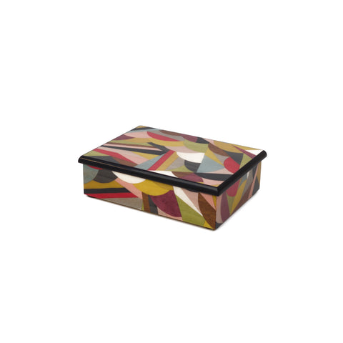 Collage Multicolor Rectangle Box