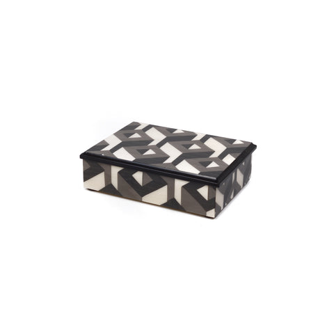 3D Cubes Grey Box