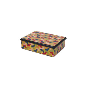 3D summer M/colors Rectangle Box