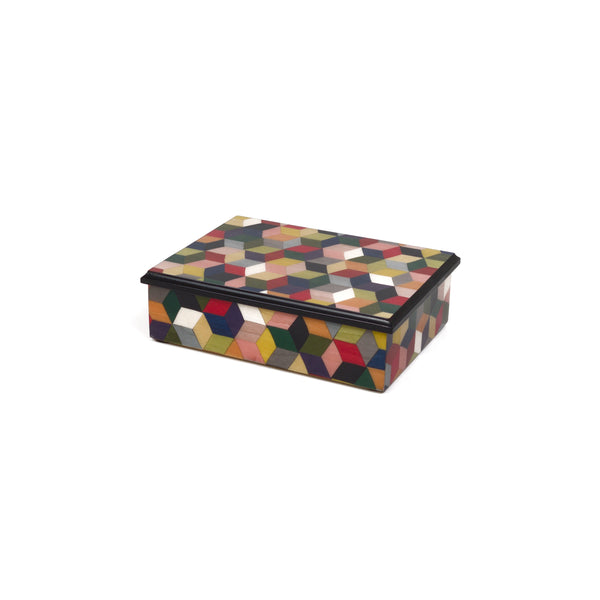 Cubes M/colors Rectangle Box