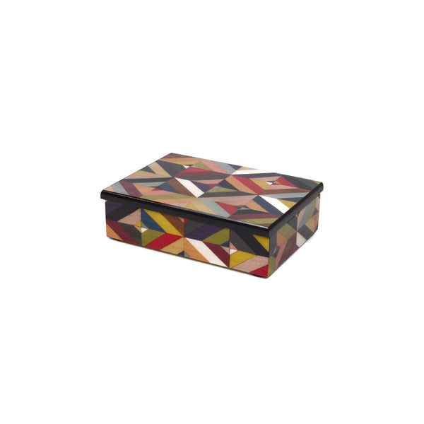 Geometric M/colors Rectangle Box