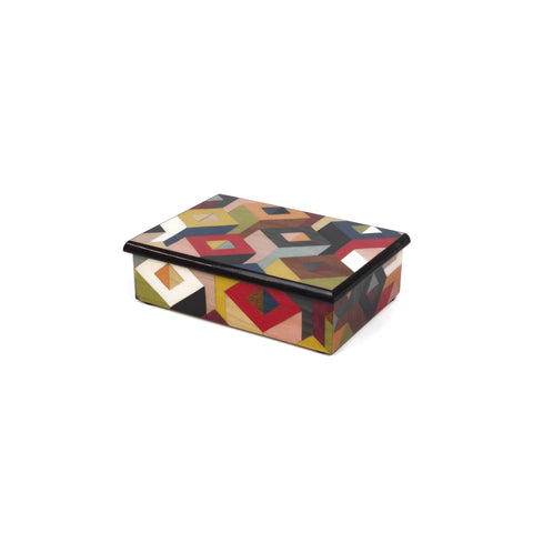 Luxury Cube M/colors Rectangle Box