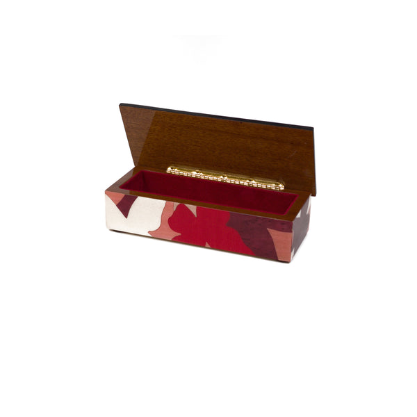 Farfalle Pink Pencil Box