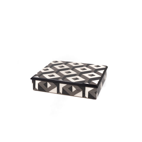Cubes grey  Rectangle box