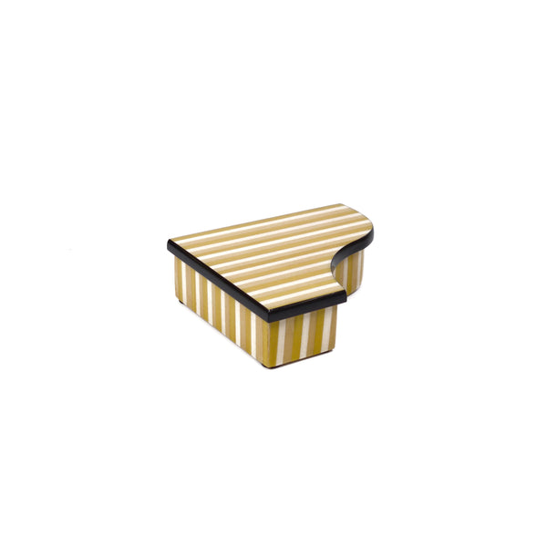 Piano Stripes yellow box