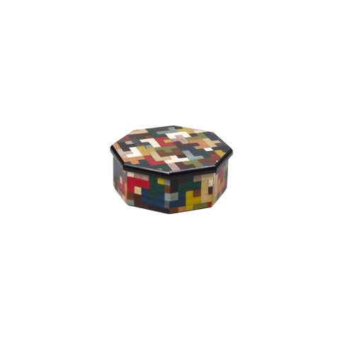 Tetris m/colors octagonal box