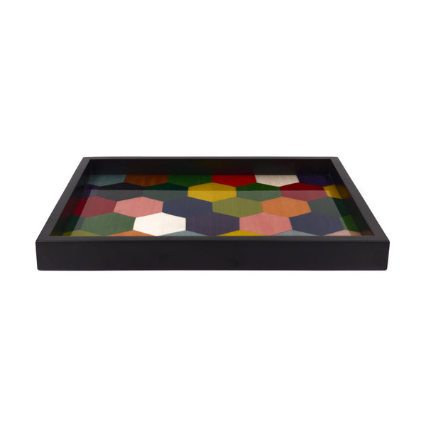 Octagonal m/colors tray