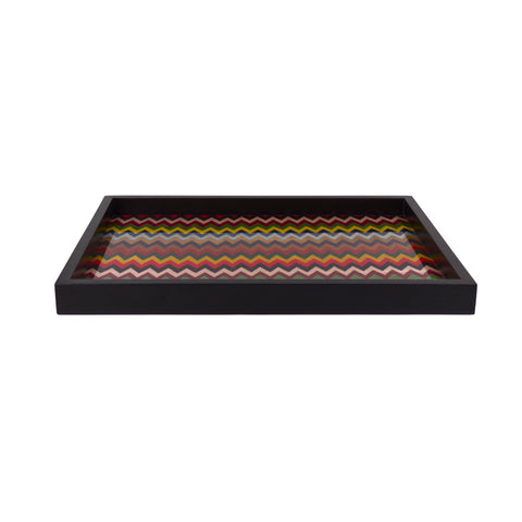 Chevron m/colors tray