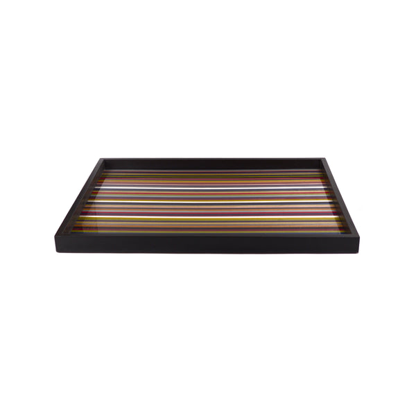 Stripes m/colors tray