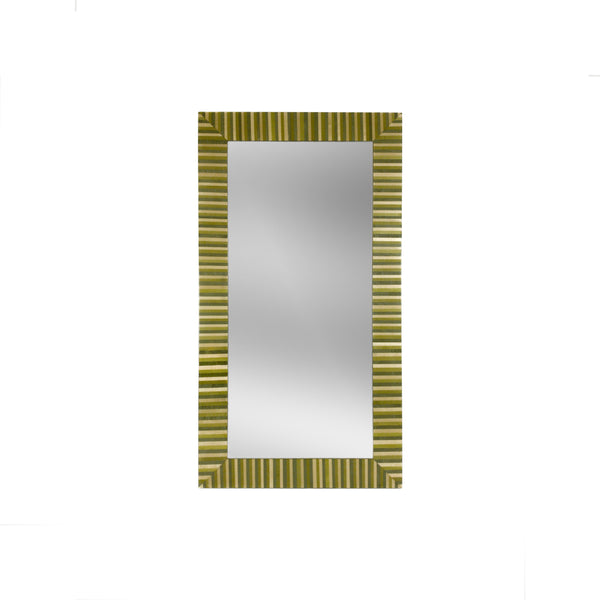 Stripes Green  Mirror