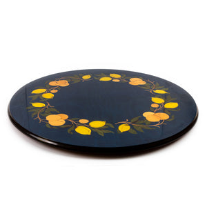 Orange and Lemon Blu lazy susan