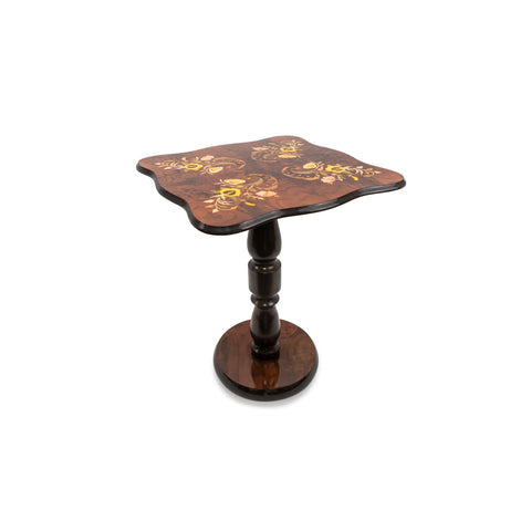Flower walnut Table
