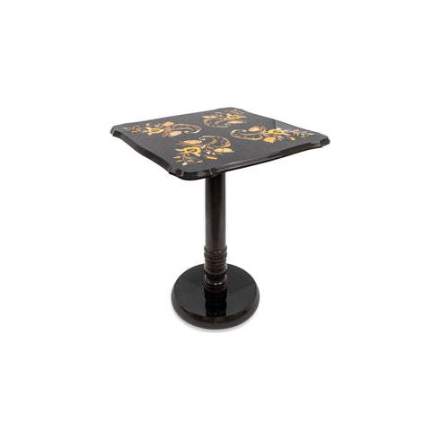 Flower black small Table