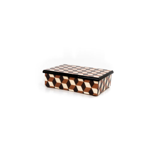Cubes brown Rectangle Box