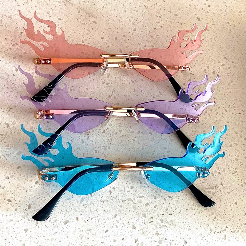 Le' Flame multi-colored sunglasses