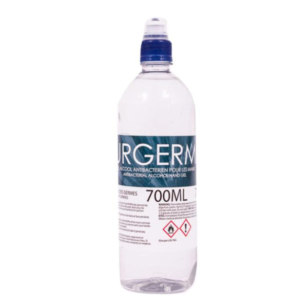 Gel à Main 70% Alcool Minimum 700ml - Purgerme