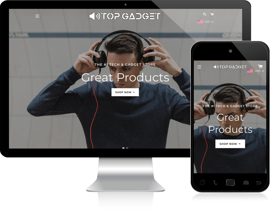 Electronics & Gadgets - Turnkey Shopify Store
