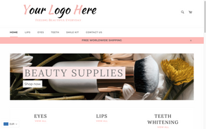 Makeup & Teeth Whitening - Turnkey Shopify Store