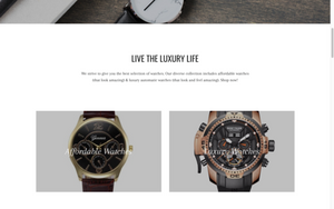 Watches - Turnkey Shopify Store