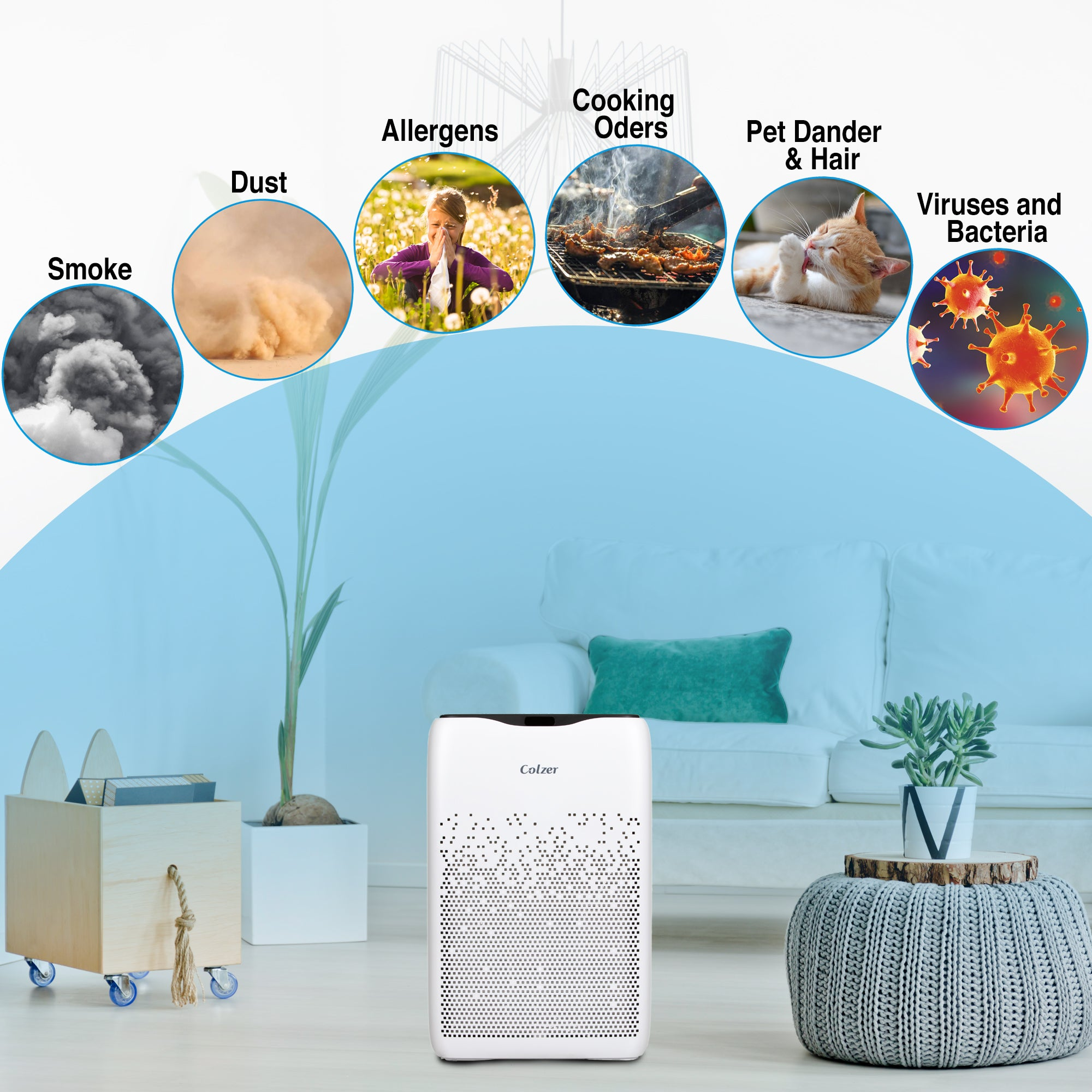 How to Choose the Right Air Purifier?