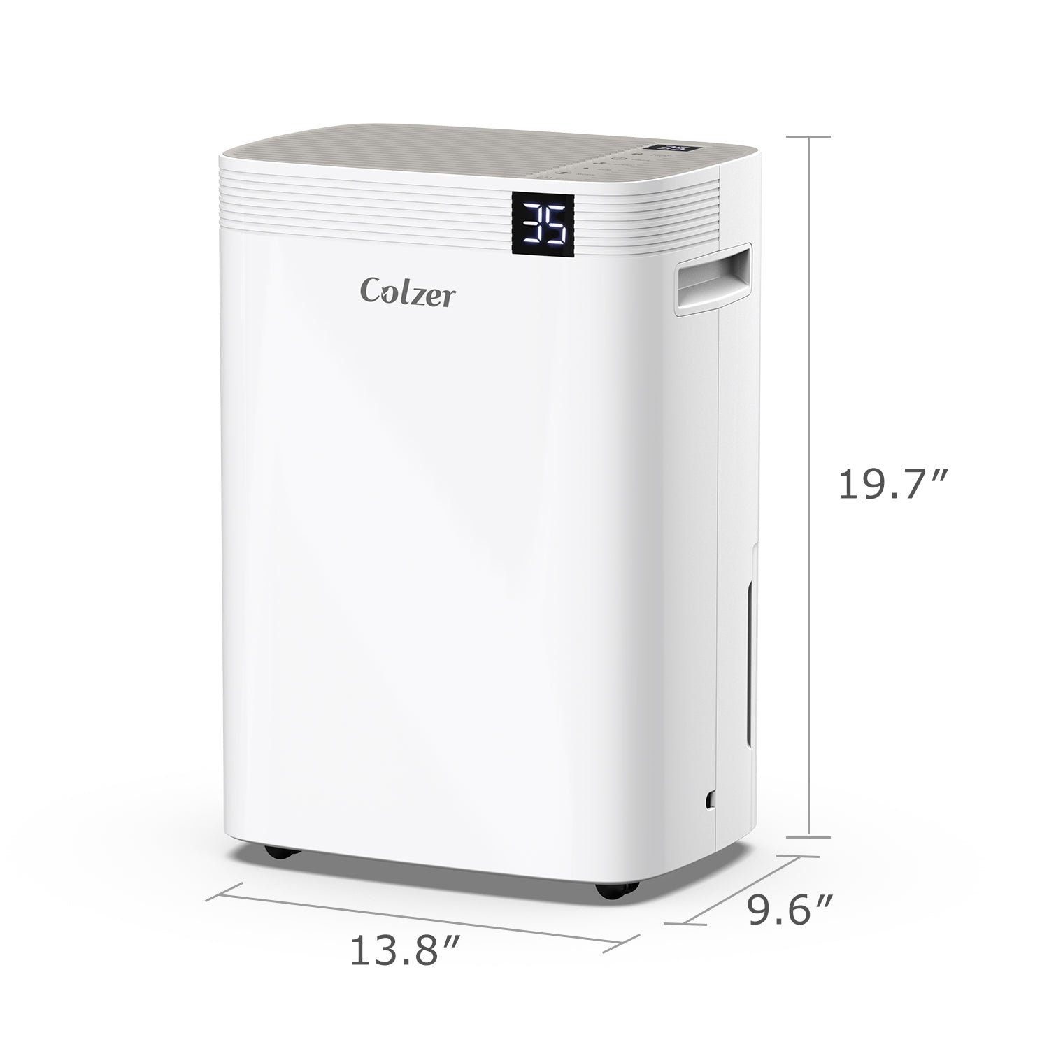 30 Pint Portable Dehumidifier for Basement - Colzer