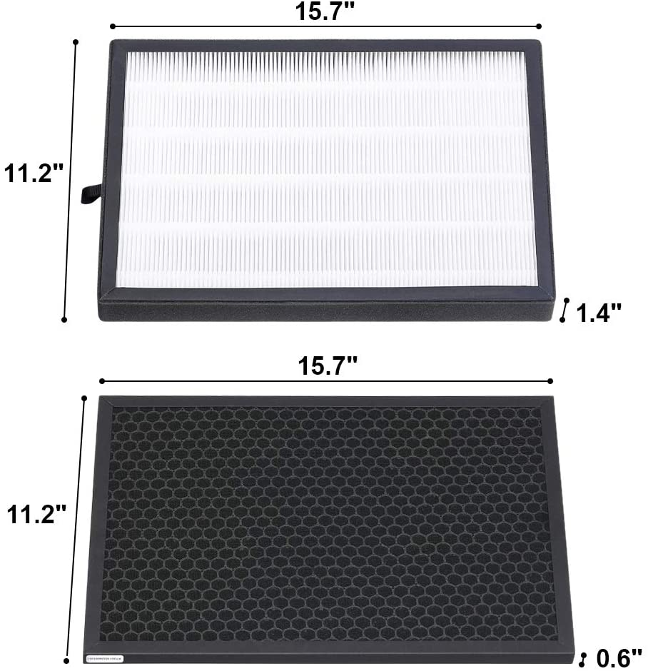 PM1619 HEPA Air Purifier Filter 2 pcs - Colzer