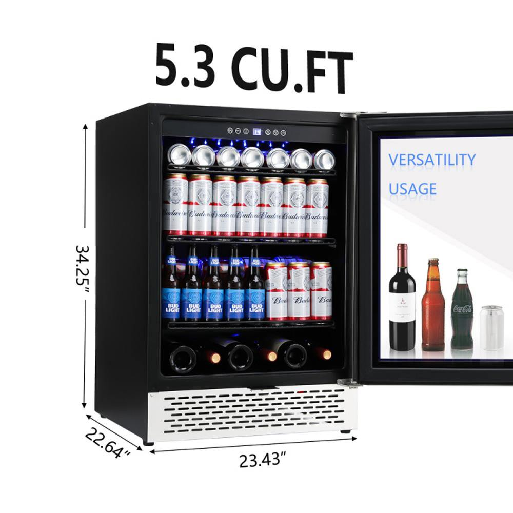 24 Inch Beverage Refrigerator and Wine Cooler - Colzer