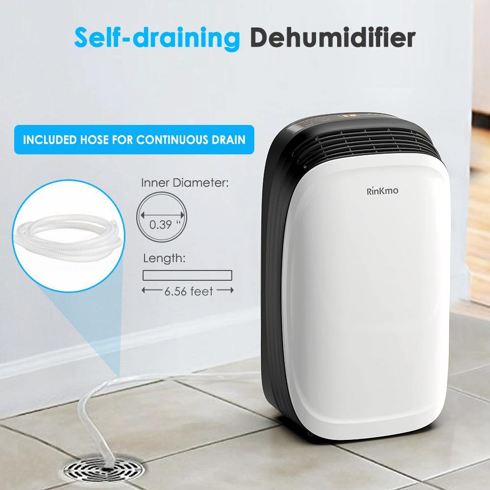 30 Pint Dehumidifier for Home Basements Bedroom - Colzer