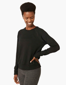 Cuddle up with Beyond Yoga Black Sweatshirt