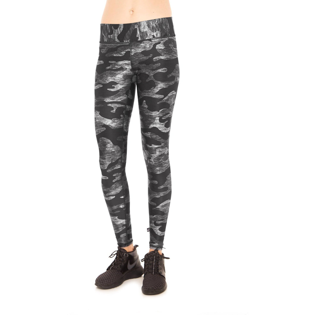 Tall Band Camo Legging from Terez Available at Studio 128.