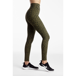 Animal print legging from Studio 128.  DYI leggings, high waisted and deep compression from Studio 128.