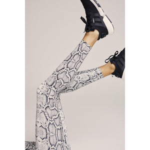 Cobra print legging from Varley available at Studio 128.