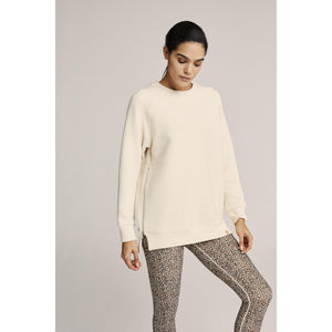Varley Manning Sweatsirt Available at Studio 128.  High end Sweatshirts, Leggings and sports bra carried at Studio 128.