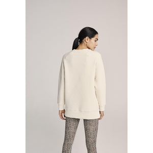 Varley Manning Sweatshirt in Oat Available at Studio 128.