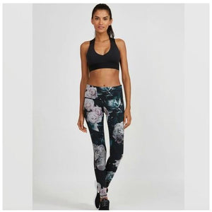 Floral leggings from Noli Yoga available from Studio 128.