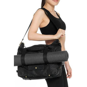 Convertible gym bags from ANDI carried at Studio 128.